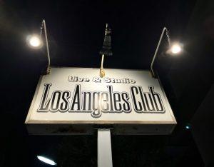 ロサンゼルスクラブの ホール機材 リスト
